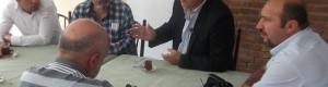Çankaya Belediye Başkan Aday Adayımız Sayın Ercan Çuhadar sivil toplum kuruluşlarından Soder'i Ziyaret etti.