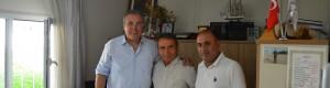 Çankaya Muhtarlar Dernek Başkanı Özgür Özdemir'i Makamında Ziyaret Ettik.