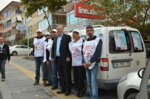Ercan Çuhadar ve Ekibi Seçim Çalışmalarına Devam Ediyor