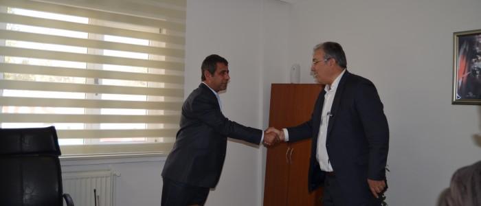 Ercan Çuhadar,Çankaya Belediyesi Müslüm Ballıktaş Zabıta Amirliği Merkezi'ni Ziyaret Etti