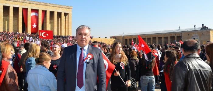 CHP Çankaya Belediye Başkan Aday Adayı Ercan Çuhadar 10 Kasım Yürüyüşüne Katıldı
