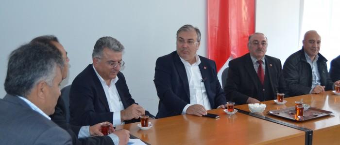Ercan Çuhadar Çorum Hitit Dernekleri Federasyonunu Ziyaret Etti