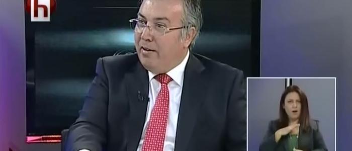 """Ercan Çuhadar Halk Tv'de Yayınlanan """"Siyaset Rüzgarı"""" Programına Katıldı"""
