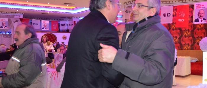 Ercan ÇUHADAR Chp Etimesgut Belediye Başkan Adayı Mehmet YULA'nın Seçim Toplantısına Katıldı.