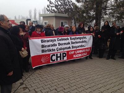 CHP Çankaya Belediye Başkan Aday Adayı Ercan ÇUHADAR CHP Çankaya Kadın kolları'nın Düzenlemiş olduğu Mustafa Kemal ATATÜRK'ün Annesi Zübeyde Hanım'ı Anma Etkinliğine Katıldı