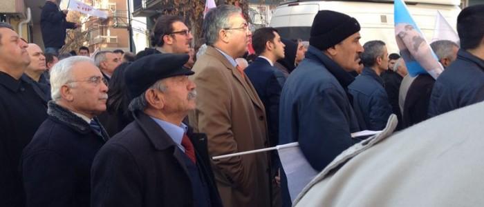 CHP Çankaya Belediye Başkan Aday Adayı Ercan ÇUHADAR CHP Ankara İl Seçim Koordinasyon Merkezi Açılışına Katıldı.