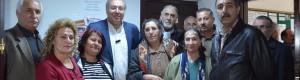 CHP Ankara 1.Bölge Milletvekili A.Adayı Ercan ÇUHADAR Mamak'ta 'Sessiz Çoğunluğun Sesi' Üyelerini ziyaret etti.