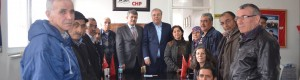 CHP Ankara 1.Bölge Milletvekili A.Adayı Ercan ÇUHADAR Şereflikoçhisar İlçe Teşkilatında düzenlenen toplantıya katıldı.